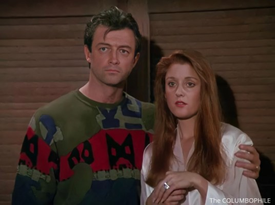 Columbo Uneasy Lies the Crown Wesley and Lydia
