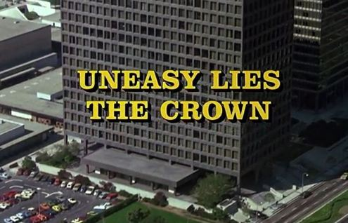 Columbo Uneasy Lies the Crown opening titles
