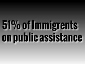 immigrants on public assistance