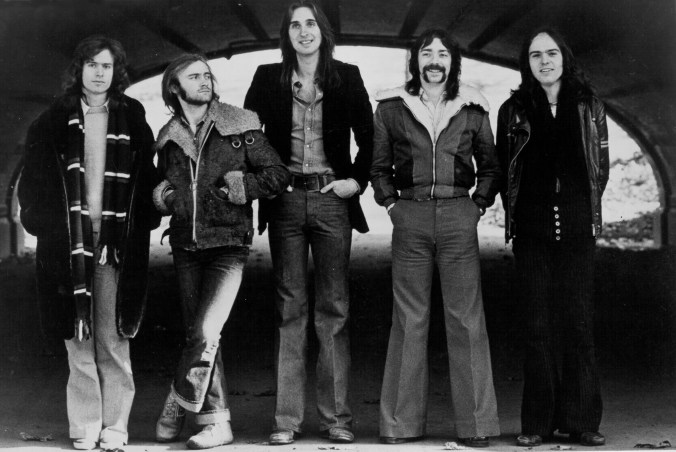 Prog-Rock Band Genesis Portrait