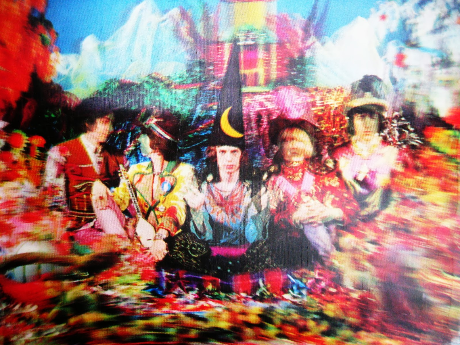 "אבנר מורן מציין 44 שנים ל-""Their Satanic Majesties Request"" של הרולינג סטונס."