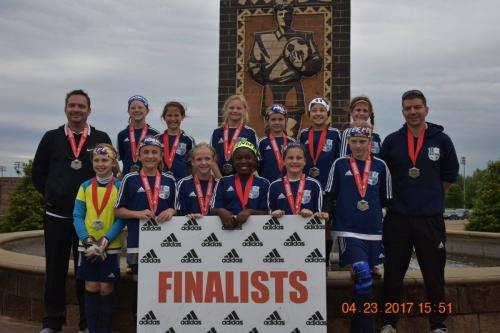07 Girls Finalists - Collierville Elite Cup