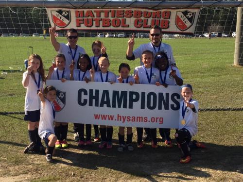07 Girls Champions - Hattiesburg