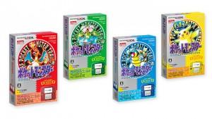 (赤、青、綠、黃的3DS及2DS復刻版)