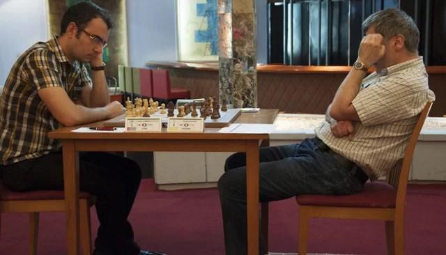 Ivanchuk y Domínguez, los dos favoritos del grupo Elite (foto de María del Carmen Ramón / Cubahora)