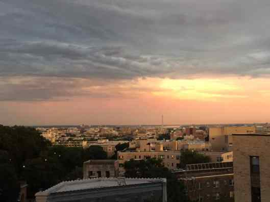 """sunset2 The DC Program: Andrea Marshall '17L Gets """"The Talk"""""""