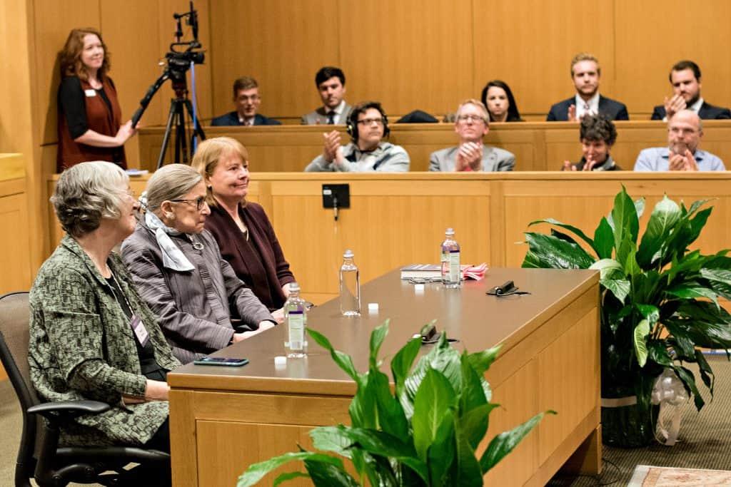 RBG_518 W&L, VMI Host Supreme Court Justice Ruth Bader Ginsburg