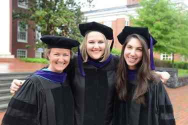 Jess Winn, Lizzy Williams and Andrea Marshall