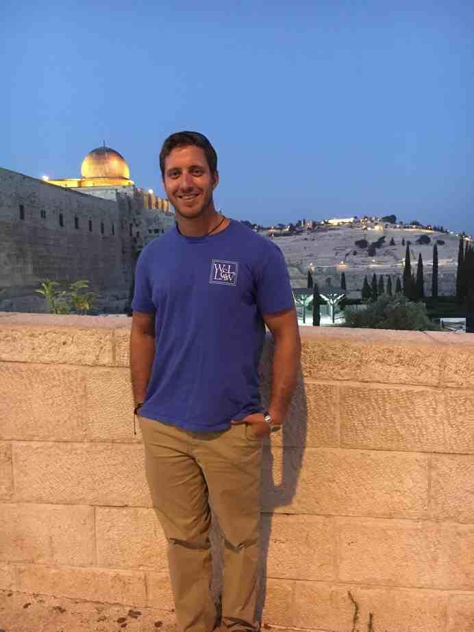 At al Aqsa Mosque in Jerusalem