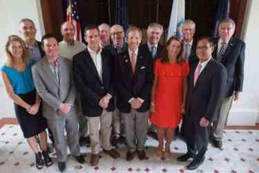 Reunion CoChairs w. Pres