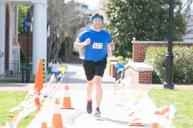 HR5k09 W&L Faculty and Staff Lace Up for First-Annual 5K