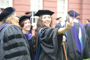 DSC_8599 School of Law Honors Graduates at 2018 Commencement Ceremony