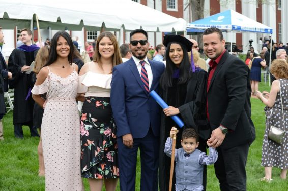 DSC_8829 School of Law Honors Graduates at 2018 Commencement Ceremony