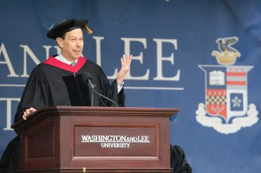 David B. Wilkins, Lester Kissel Professor of Law at Harvard Law School, delivered this year's Law Commencement address.