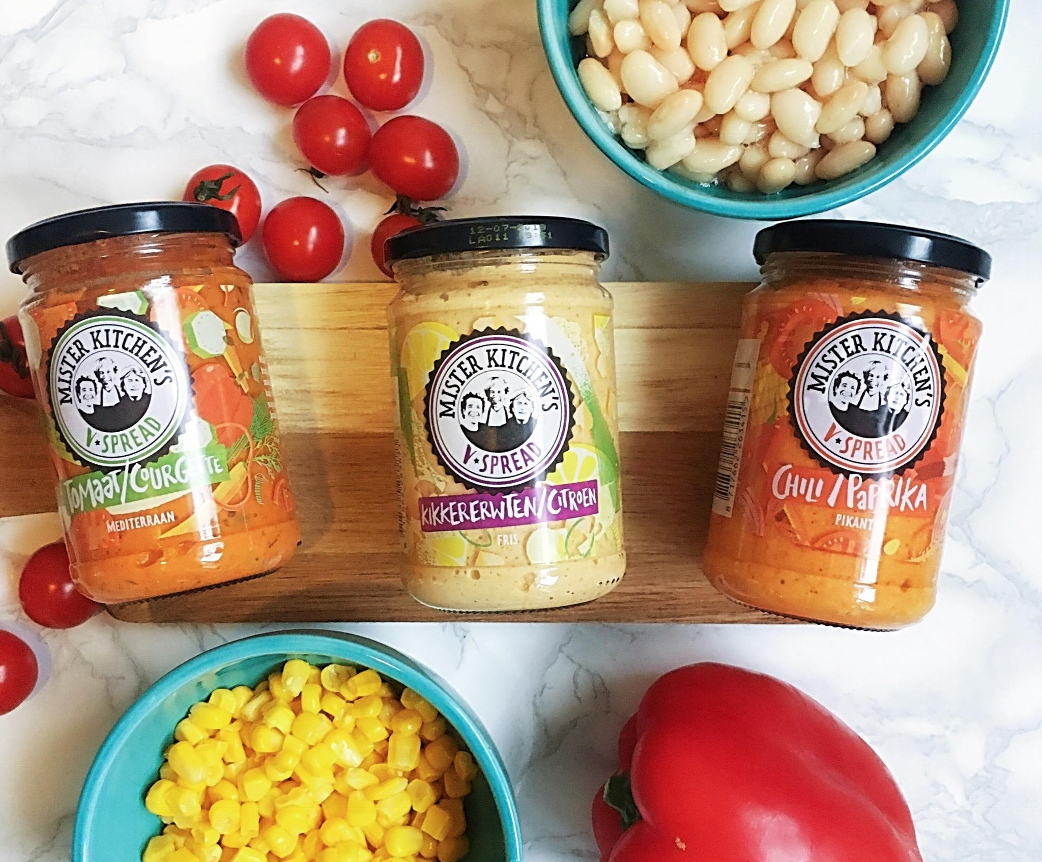 V Spread De Heerlijke Veganistische Groentespreads Van Mister Kitchen