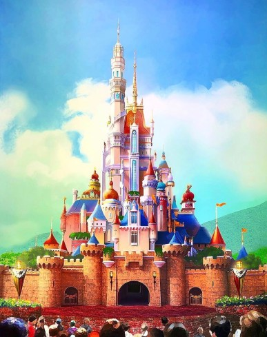 Image result for castelo hong kong renovacao disney