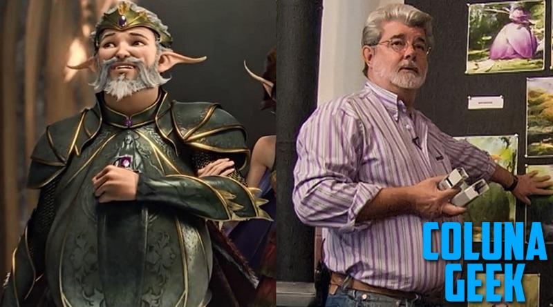 George Lucas em Animação da Disney: de roteirista e produtor a Rei das Fadas e de nossos corações <3