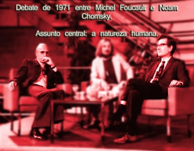 filósofo michel foucault debate chomsky
