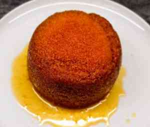 Read more about the article Steamed Golden Syrup Sponge