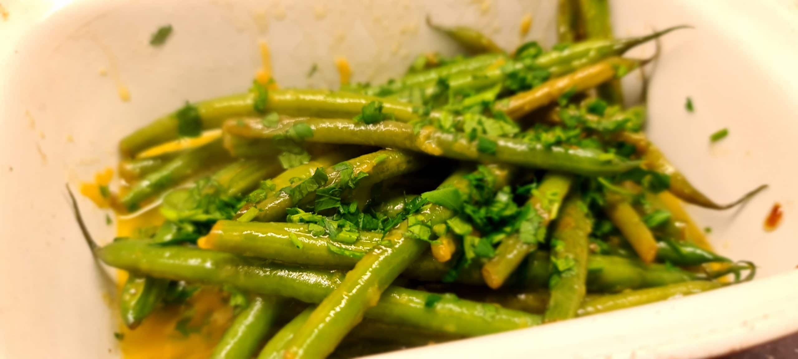 You are currently viewing Lemon and Parsley Green Beans