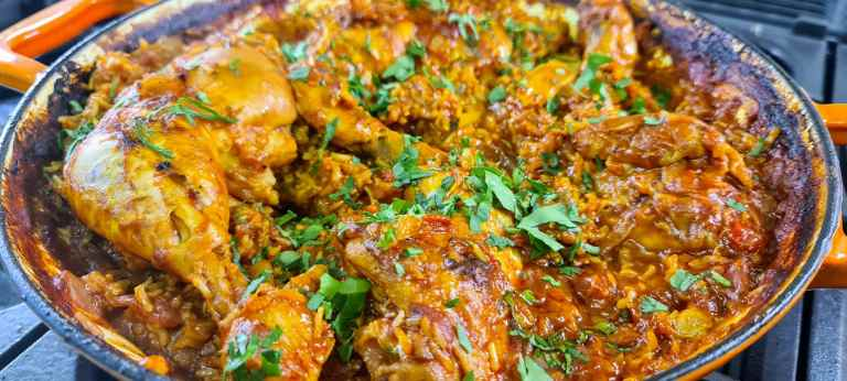 Read more about the article Chicken and Chorizo Baked Rice