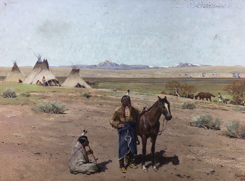 A Sioux Camp