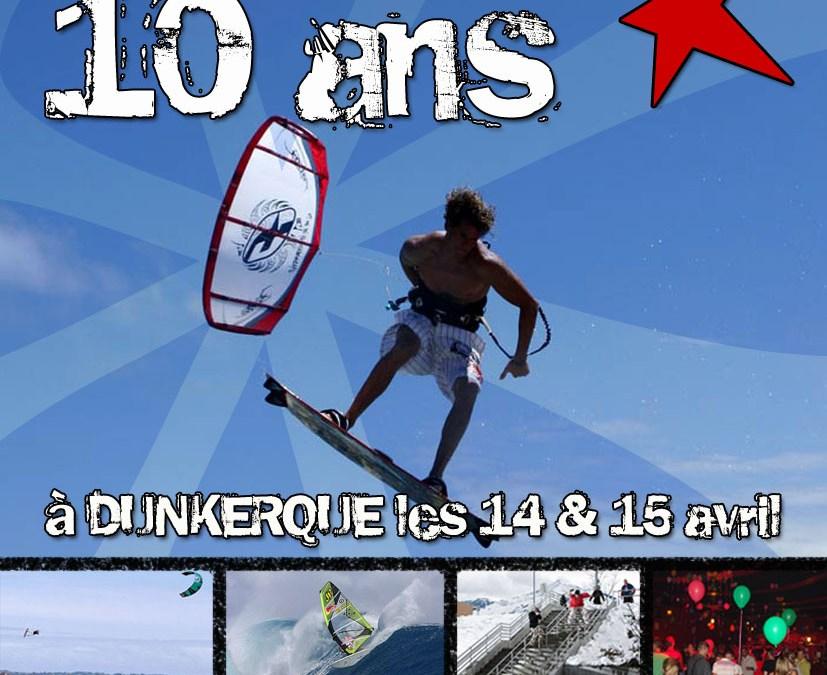 Affiche 10 ans Surfingarea