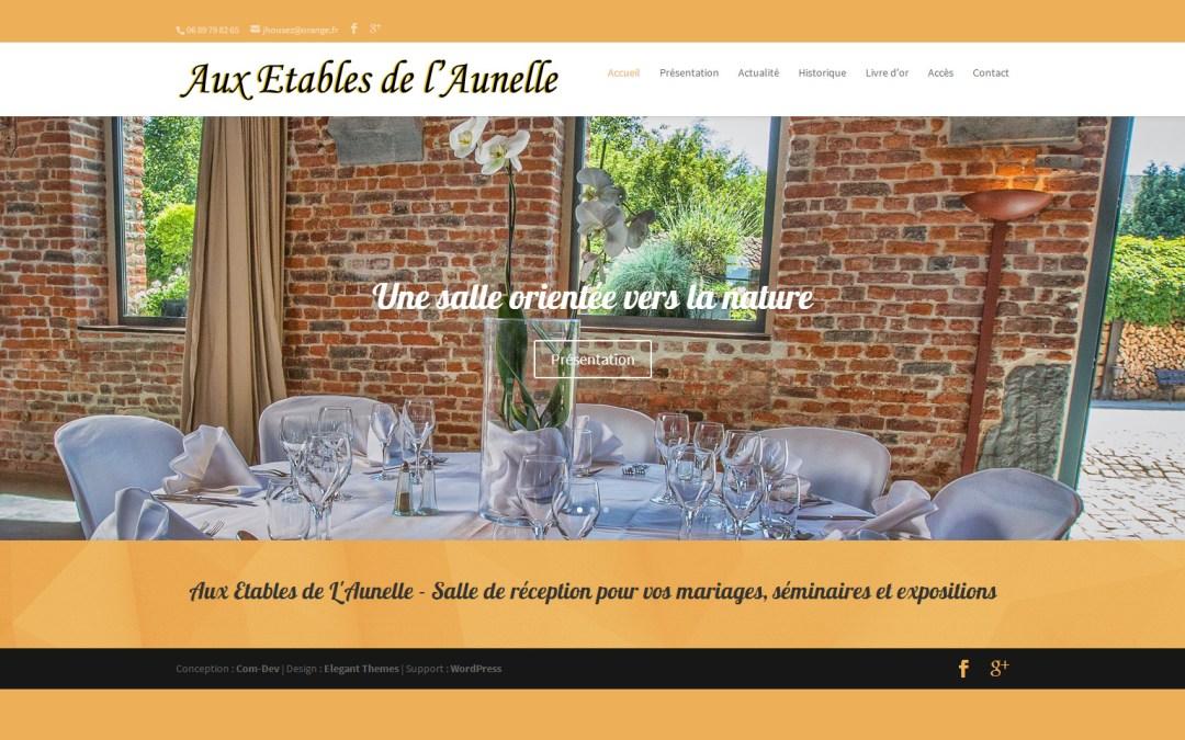 Site de «Aux Étables de l'Aunelle»