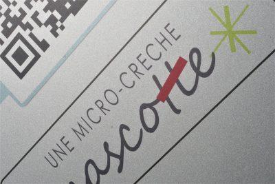 création logo design - By com empreintes