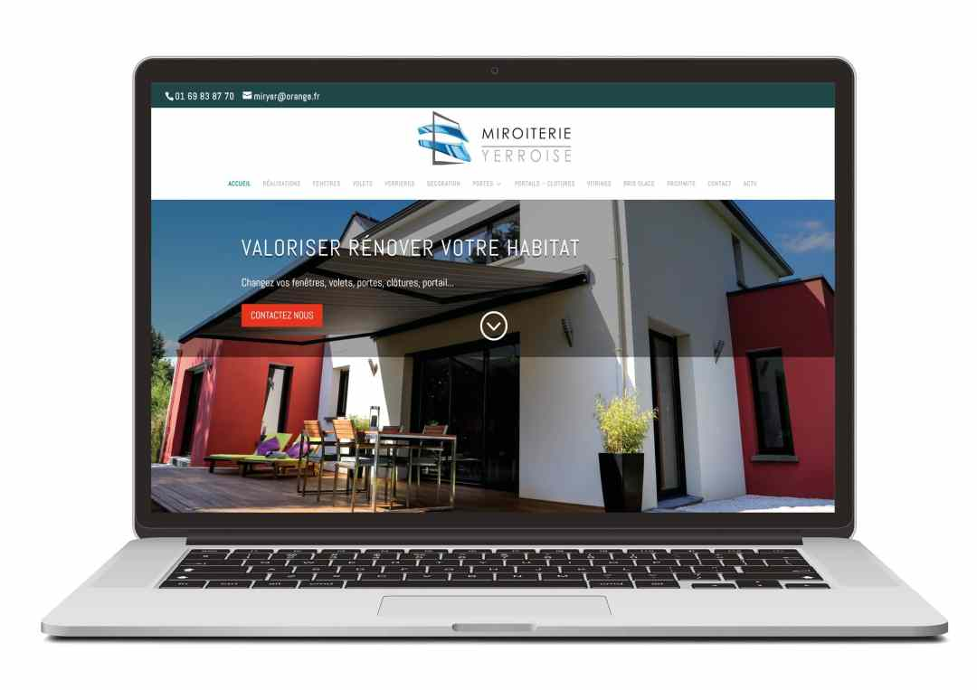 Création site web pour secteur artisanat / batiment