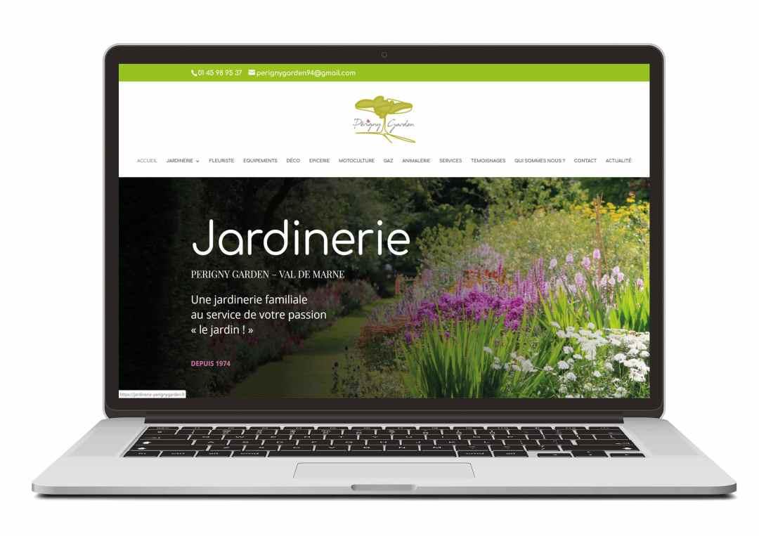 Création site web pour secteur commerçant