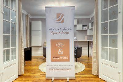 Création roll-up pour professions libérales - By Com' Empreintes