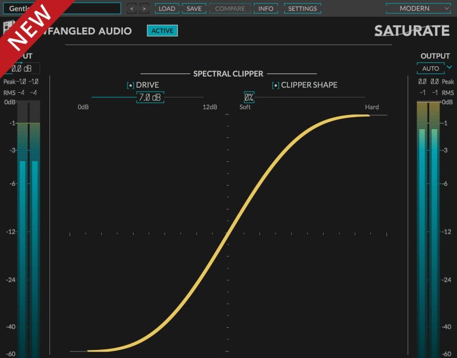 Screenshot of Elevate Plug-in Saturate
