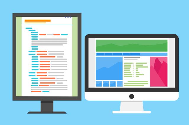 stage web design - développement web