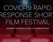 The Covid-19 Rapid Response Short Film Festival takes places on May 9 at 4 p.m. through Zoom.