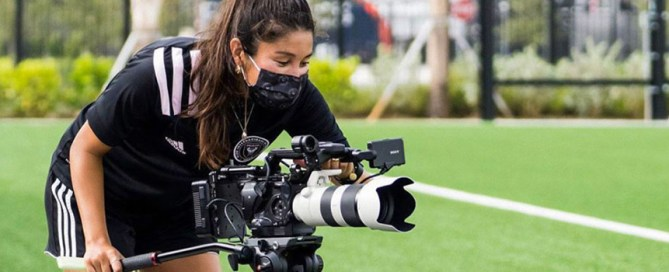 A former midfielder for the University of Miami's soccer team, Lauren Markwith is now a digital producer for Inter Miami CF, the newly formed Major League Soccer team.