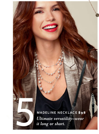Madeline Necklace - $98 - Ultimate versatility - wear it long or short