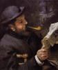 «Claude Monet leyendo» (1872), de Renoir.