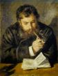 «El lector» (1874), de Pierre-Auguste Renoir, retrata a Claude Monet.