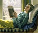 «Muchacha leyendo» (1932), de Harold Knight.