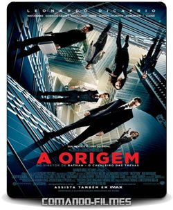 A Origem Torrent (2010) BluRay  720p - 1080p 2160p 4K Dual Áudio Dublado – Download