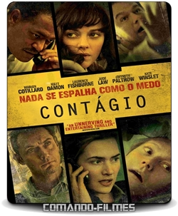 Contágio Torrent (2011) BluRay 720p e 1080p Dual Áudio 5.1 Download