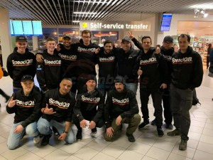 Bert Fraiquin with Dutch & Belgian Realstrike.net teams
