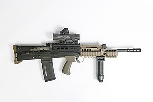 British Army Equipment - Weapons - SA80 L85A2 L85A3 [thumb]