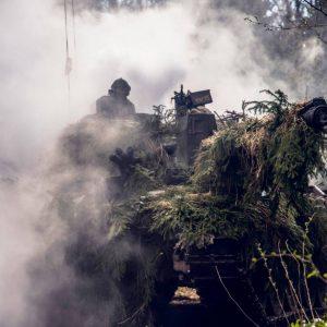 British Army Kings Royal Hussars Op CABRIT Ex Spring Storm Estonia (NATO, 2019) [1180]