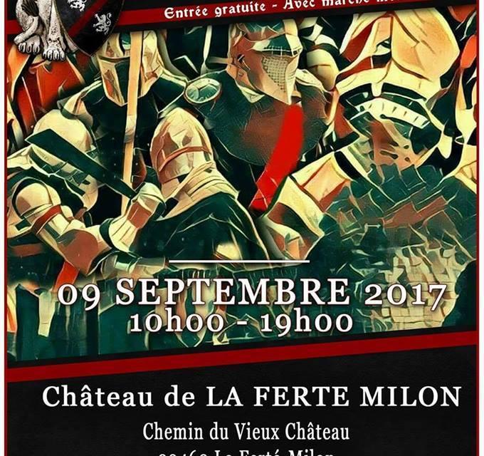 Tournoi du Valois / Château de la Ferté Milon : inscriptions combattants