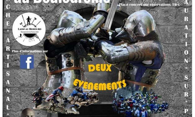 Laon au béhourd 2020 : inscriptions combattants