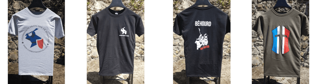Tee shirts Fédération Française de Béhourd