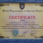 Diploma Istruttore Specnaz