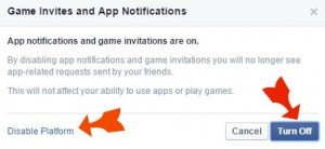 Block Facebook Game and App Invites